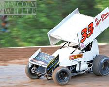 Van Dam Earns First Podium of Season at Cottage Grove Speedway