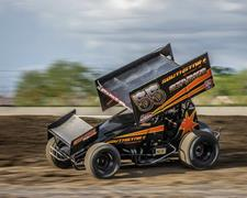 Starks Settles for Second Place in Return to Cottage Grove Speedway