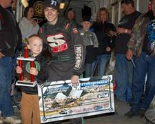 Colin Baker Scores Northwest Wingless Tour 2014 Season Opener At CGS