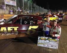 Farrar Scores First Street Stock Win Of 2014 At Sunset