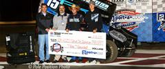 Sam Hafertepe, Jr. Collects Prelim Night Victory at Texas Motor Speedway