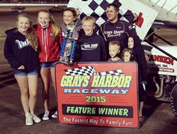 Van Dam Returns to Victory Lane at Grays Harbor for Fourth Time This Season