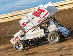 Hanks Ends Disappointing Weekend in Crash at Cotton Bowl Speedway