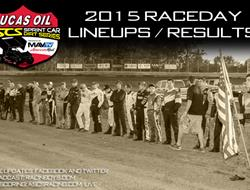 Lineups / Results - Gillette Thunder Speedway