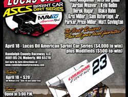 Randolph County Raceway Added to Lucas Oil ASCS Lineup