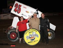 Brian McClelland Best of ASCS Lone Stars at Boyd!