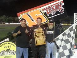 Travis Elliot Breaks Through with ASCS Gulf South at Shady Oaks Speedway