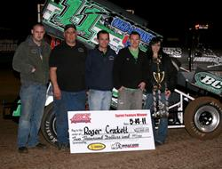 Crockett Sweeps ASCS Northwest Opening Weekend at The Grove!
