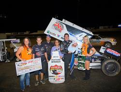 Jason Johnson reclaims points lead with Elma win