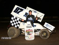 Aaron Reutzel Bests Lucas Oil ASCS in Southern New Mexico