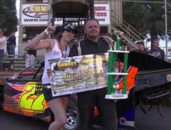 Mark Carrell Wins Round #2 Of WWMS At Sunset Speedway Park