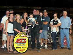 Sherman Shines in ASCS Canyon Hank Arnold Memorial Finale