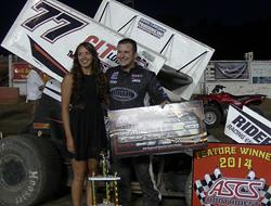 Hirst Opens Up Speedweek Northwest With Wild Siskiyou Motor Speedway Win