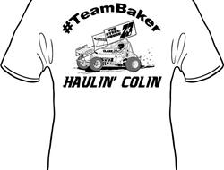 Colin Baker T-Shirts To Be Sold At CGS Memorial Day Weekend; All Proceeds Going To Baker Family Fund