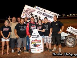 Wayne Johnson takes Lawton Speedweek Win