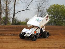 Long goes The Distance in ASCS Sprints on Dirt Opener at Crystal!