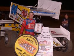 Swindell holds off Bruce for Lucas Oil ASCS prize