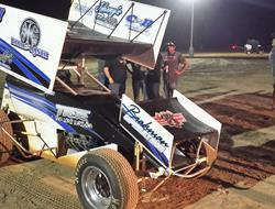 Tim Crawley Tops ASCS Lone Star at Timberline Speedway