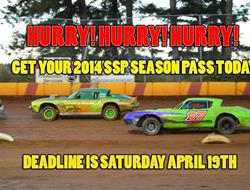 SSP Half Price Season Passes Still On Sale