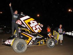 Johnny Herrera triumphs at Valley with Lucas Oil ASCS