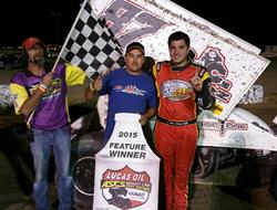 Aaron Reutzel Thunders to Victory Lane in Gillette