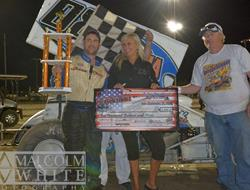 Vague Wins First Career Victory In Night One At Yakima; Baker Extends Point Lead