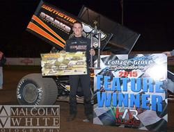Starks Sails to Inaugural Western Sprint Tour Win, Caps Weekend with Grays Harbor Triumph