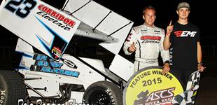 Seth Bergman Wins Thriller in Lubbock With The ASCS Red River Region
