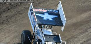 Bergman Scores Career-Best Eighth Victory During Debut at Huset's Speedway