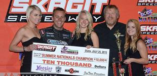 Bergman Captures Second Straight Summer Nationals Victory at Skagit