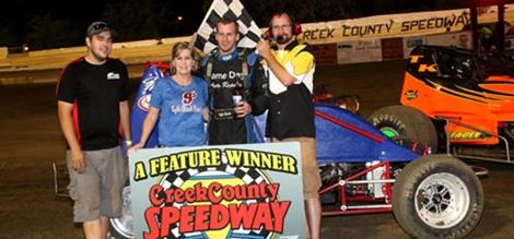 Clark Claims Non-Wing Champ Sprint Feature while Sewell Sweeps ASCS Red River.