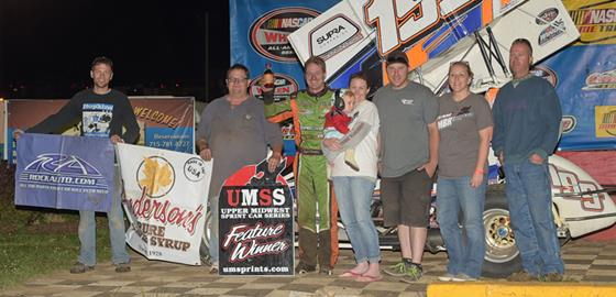 Ryan Bowers Finishes UMSS Season With Richert Memorial Win At CLS