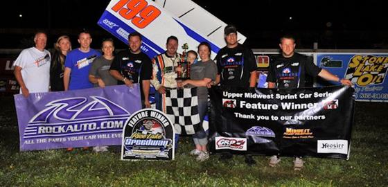 Ryan Bowers Completes UMSS Weekend Sweep at Rice Lake