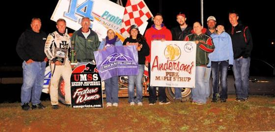 Tatnell Completes Sweep of Kouba Memorial With SCVR Victory