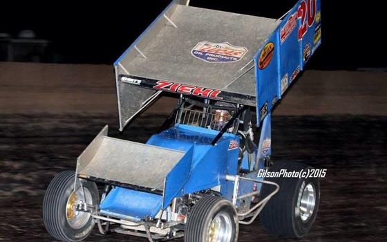 It's Rick Ziehl at Canyon Speedway Park