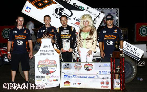 Ian Madsen Motors to First Lucas Oil ASCS Score at I-80 Speedway!