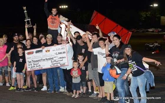 Tankersley Wins Battleground; Tops ASCS Gulf South Championship