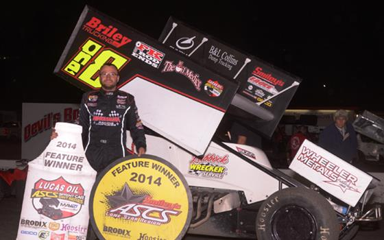 Tony Bruce, Jr. Takes Winter Nationals Preliminary Checkers