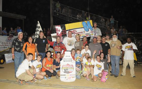 Jeff Swindell Capitalizes with Victory at the Lexington 104 Speedway