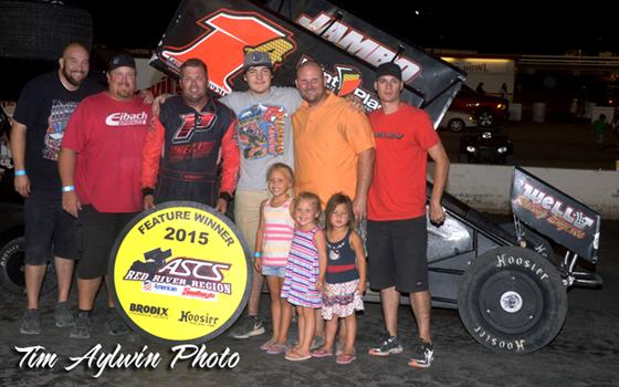 Kevin Ramey Wins at the Devil's Bowl with ASCS Red River