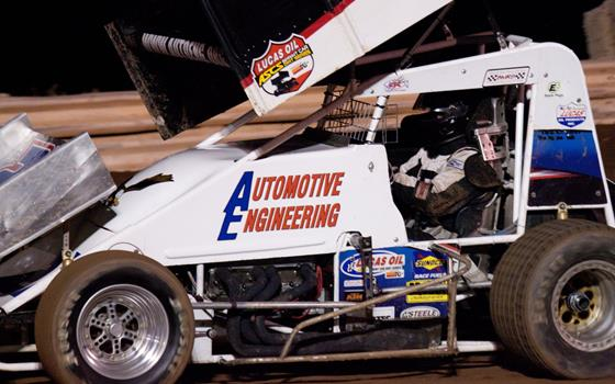 Mike Rux, Jr. Breaks into ASCS Southwest Victory Lane