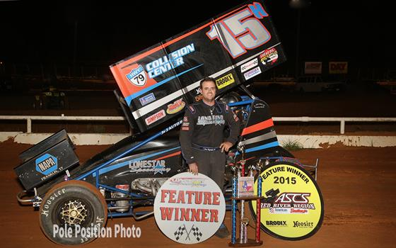 Sam Hafertepe, Jr. Rolls to Victory at the Lone Star Speedway