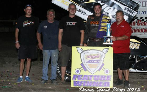 Jonathan Cornell Scores at Scotland County Speedway with ASCS Warriors