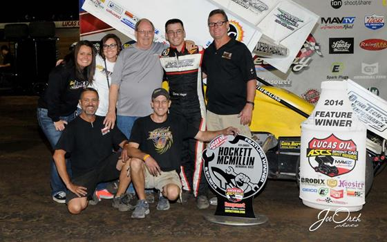 Derek Hagar Prevails in Traffic for Victory in the Hockett/McMillin Memorial