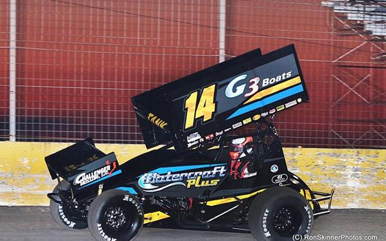 Tankersley Ends ASCS Gulf South Season with Podium at Battleground