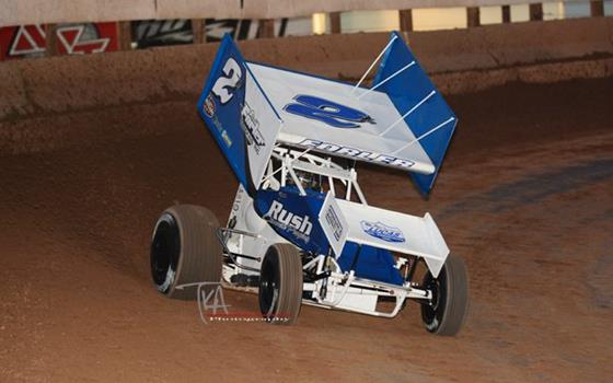 Logan Forler Snags Opening Night of The Copper on Dirt