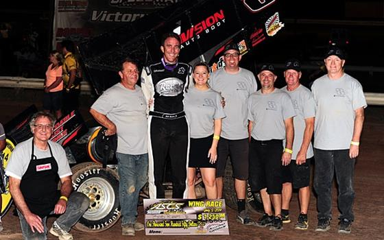 Bob Ream, Jr. Scorches ASCS Southwest Field at Arizona Speedway