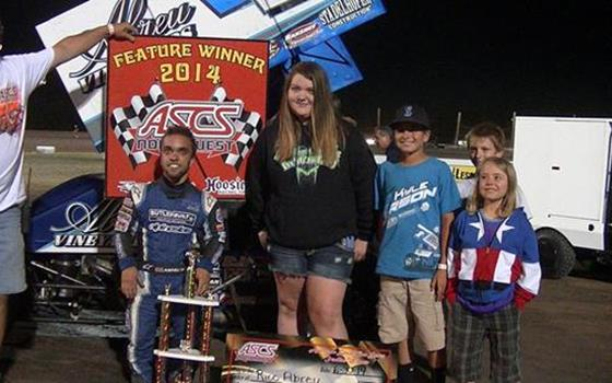 Despite Scorching Heat Rico Abreu Captures Victory At Southern Oregon In Speedweek Northwest Round #2