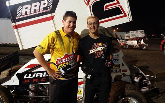 Walker Breaks Through with ASCS Sooner at Creek County Speedway