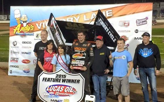 Cornell Wires ASCS Warrior Opener at Lucas Oil Speedway